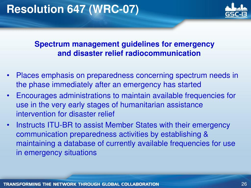Resolution 647 (WRC-07)