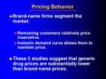 pricing behavior6