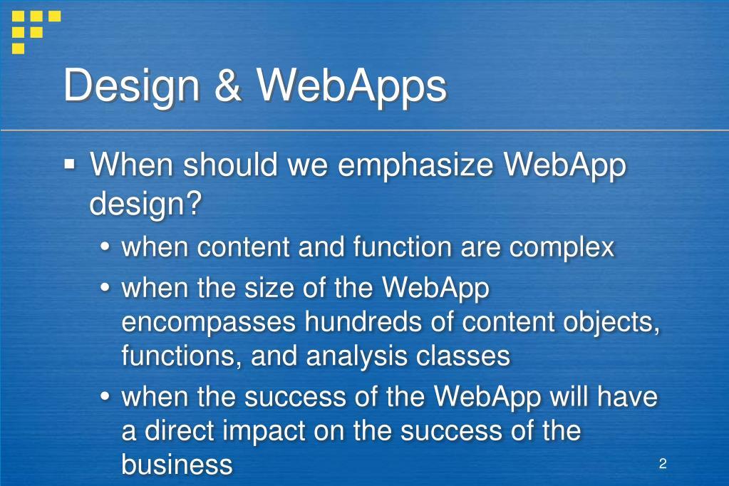 Design & WebApps