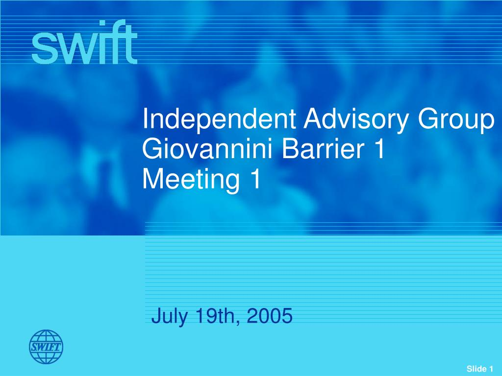 Independent Advisory Group
