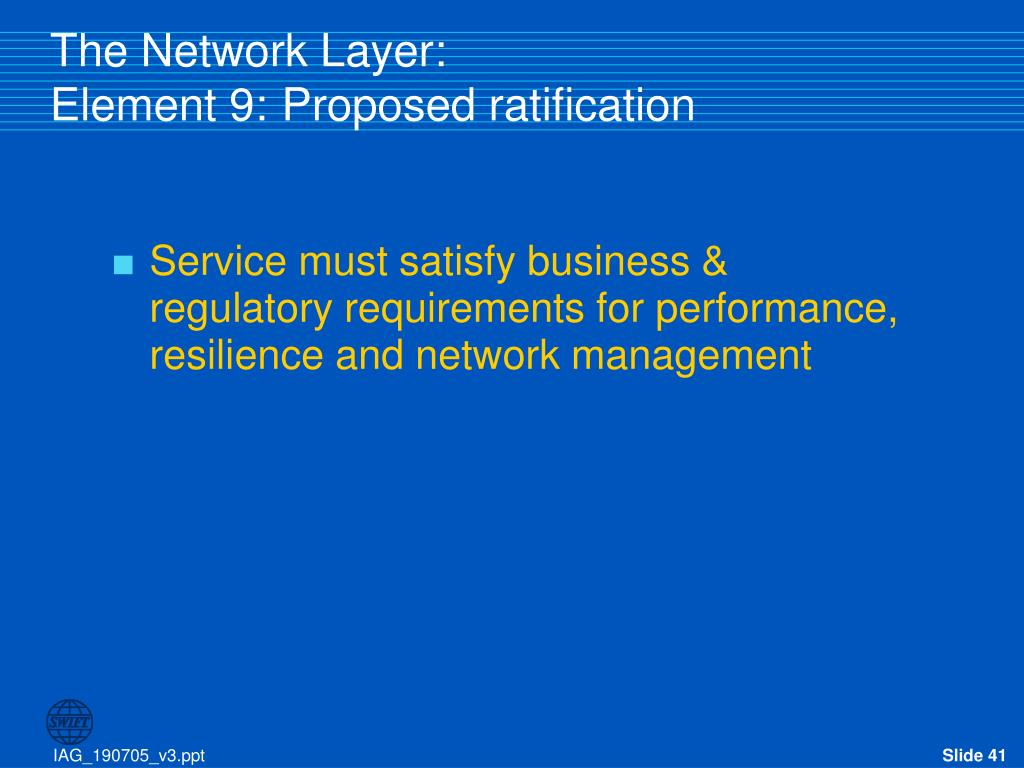 The Network Layer: