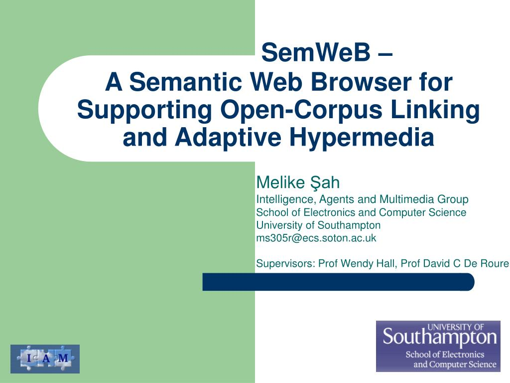 a semantic web browser for supporting open corpus linking and adaptive hypermedia