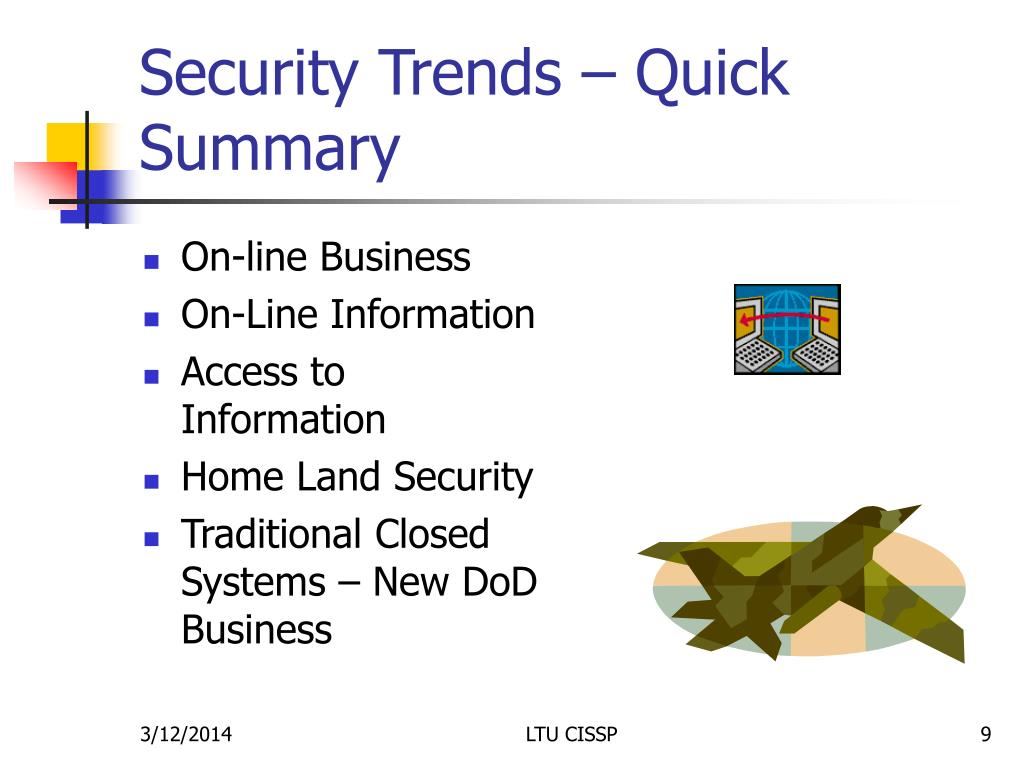 Security Trends – Quick Summary