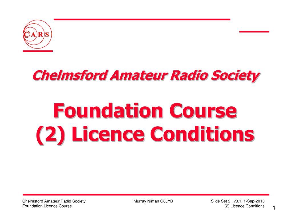 Chelmsford Amateur Radio Society