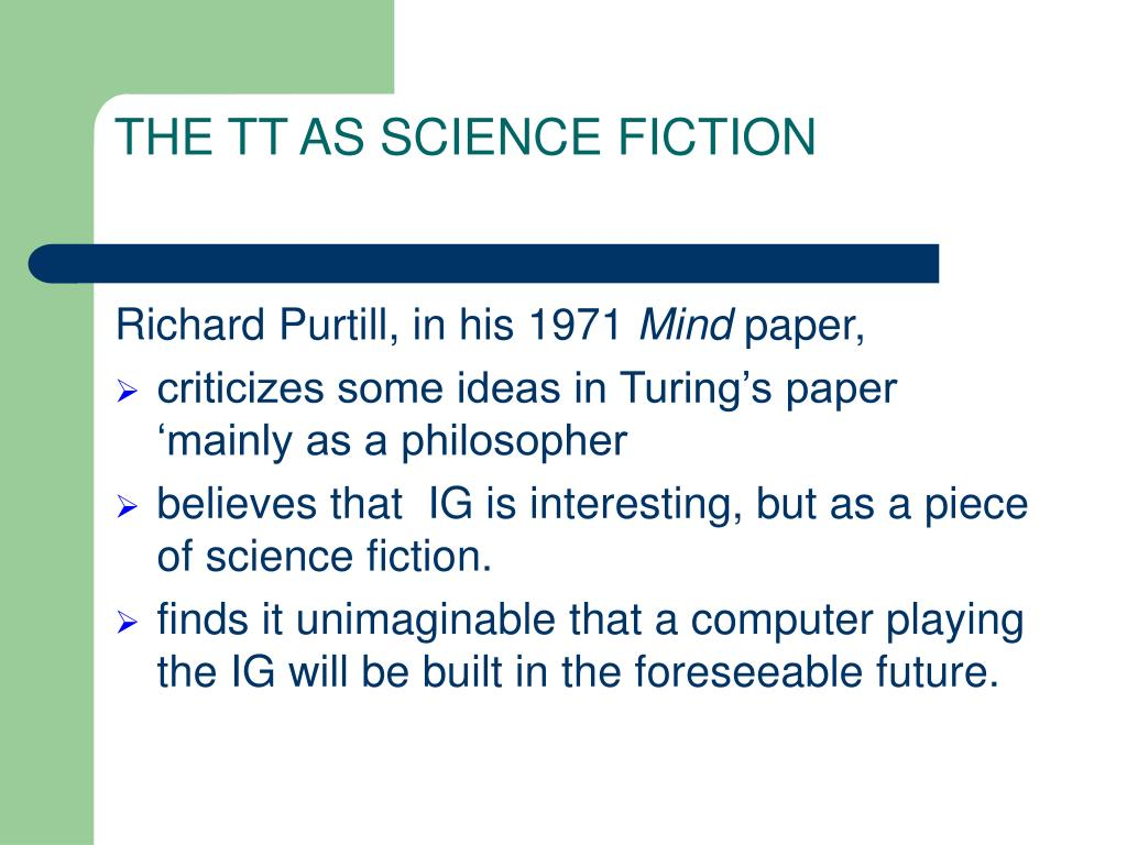THE TT AS SCIENCE FICTION