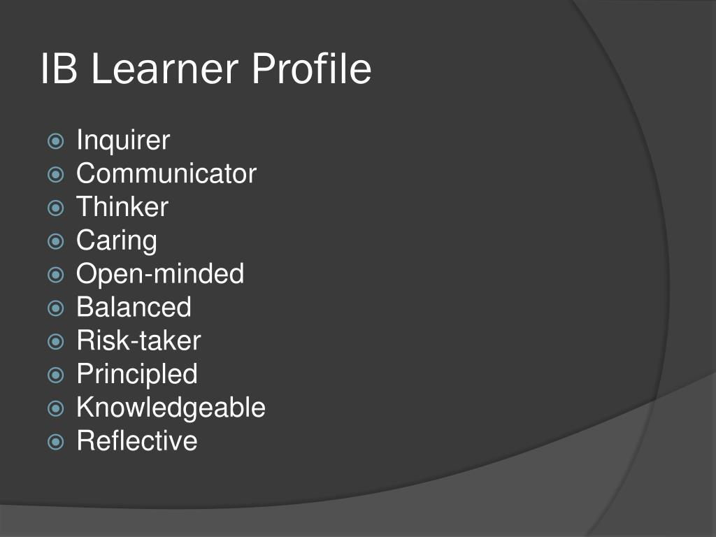 IB Learner Profile