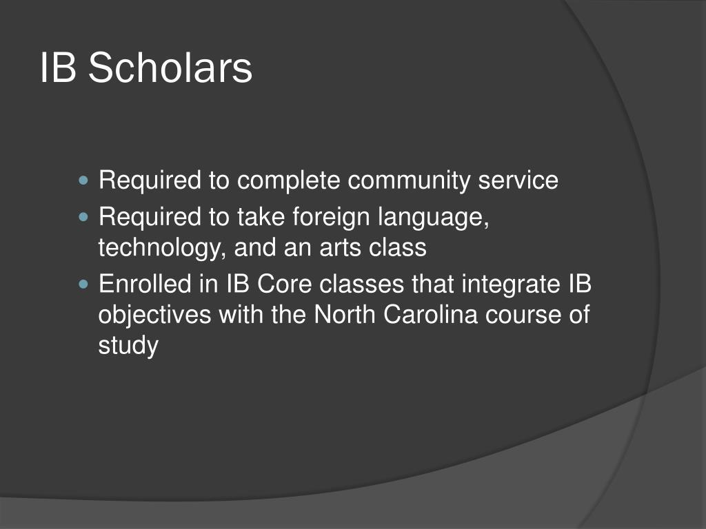 IB Scholars