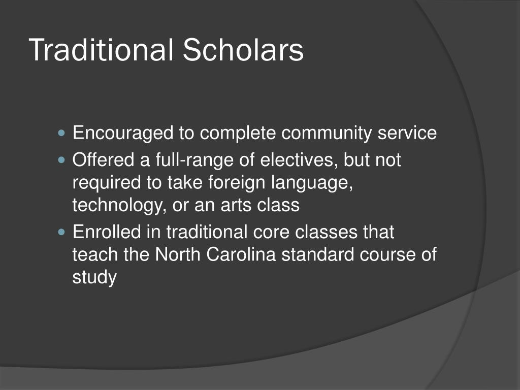 Traditional Scholars