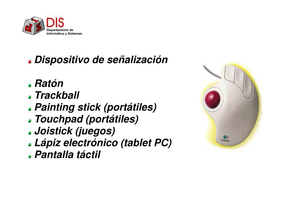 Dispositivo de señalización