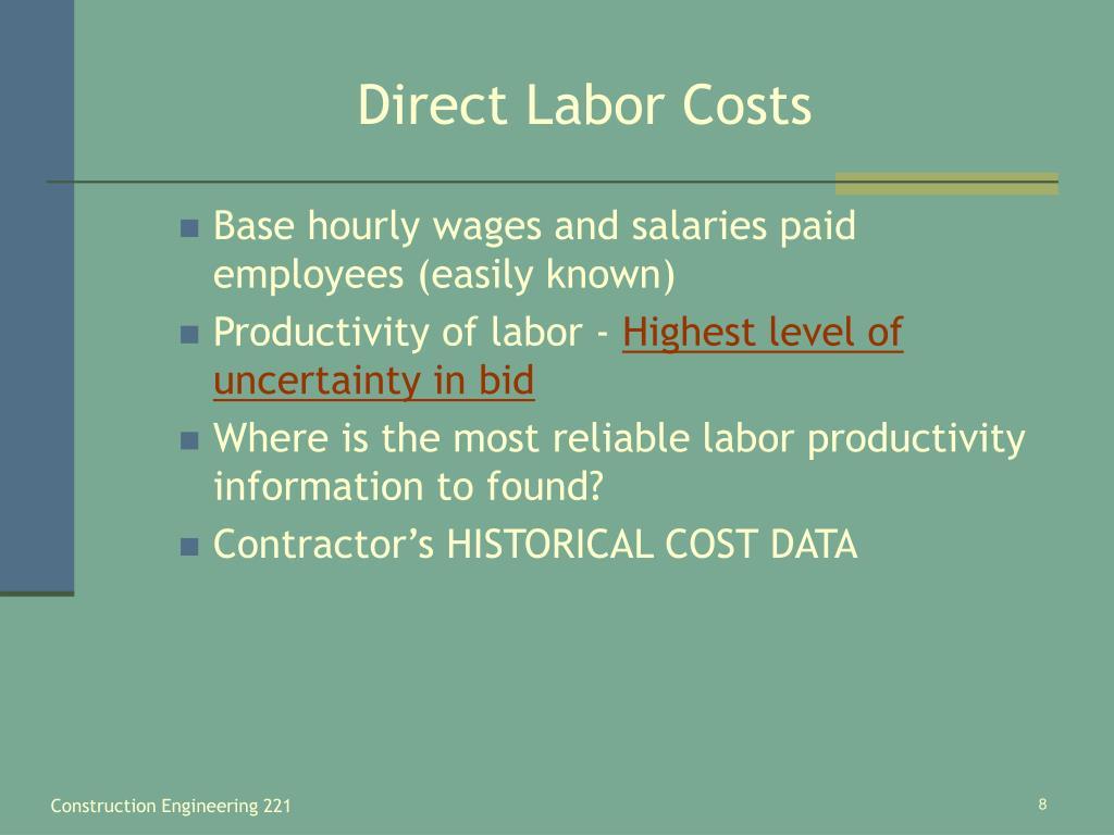 Direct Labor Costs