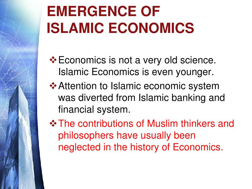 EMERGENCE OF ISLAMIC ECONOMICS