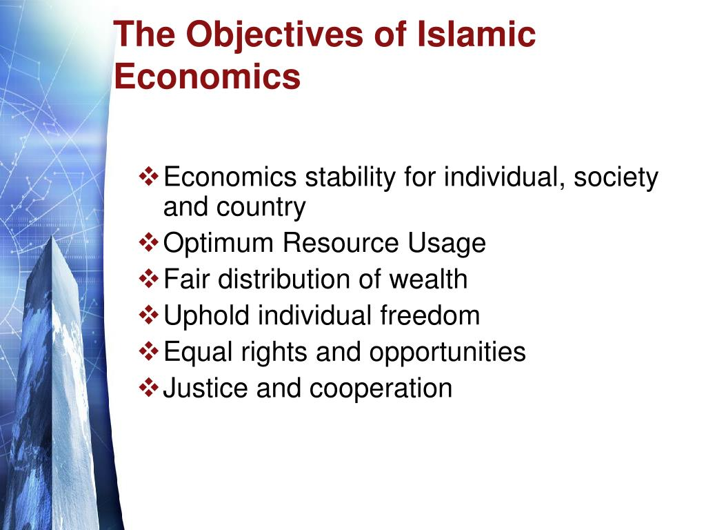 The Objectives of Islamic Economics