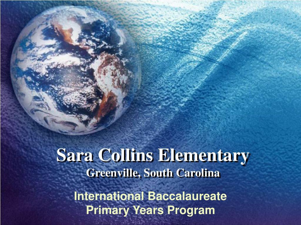 sara collins elementary greenville south carolina