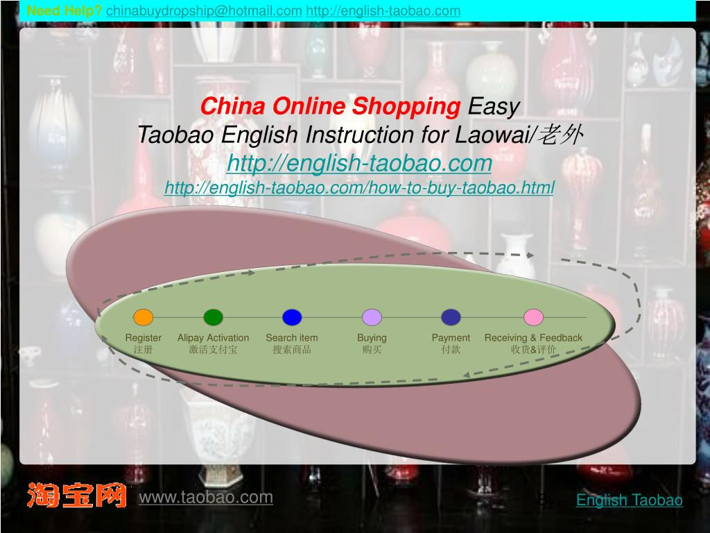 PPT - China Online Shopping Easy Taobao English Instruction for
