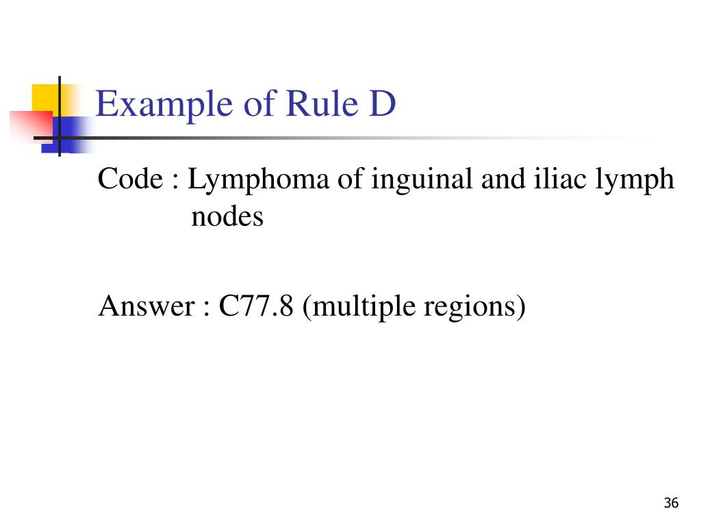Example of Rule D