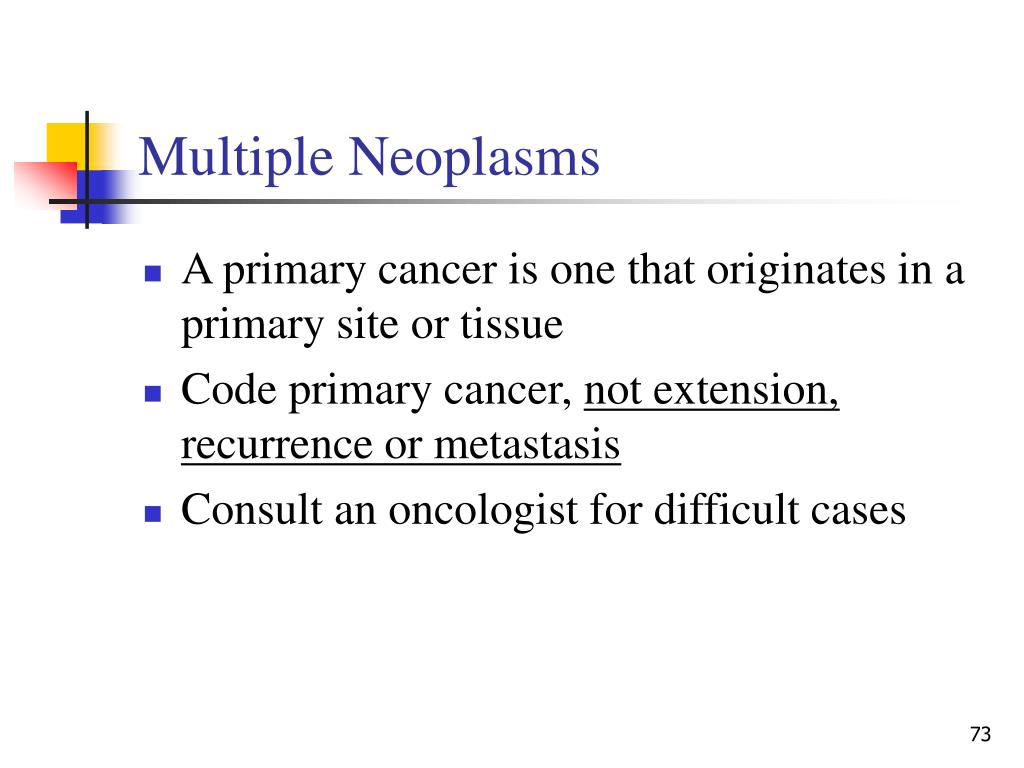 Multiple Neoplasms