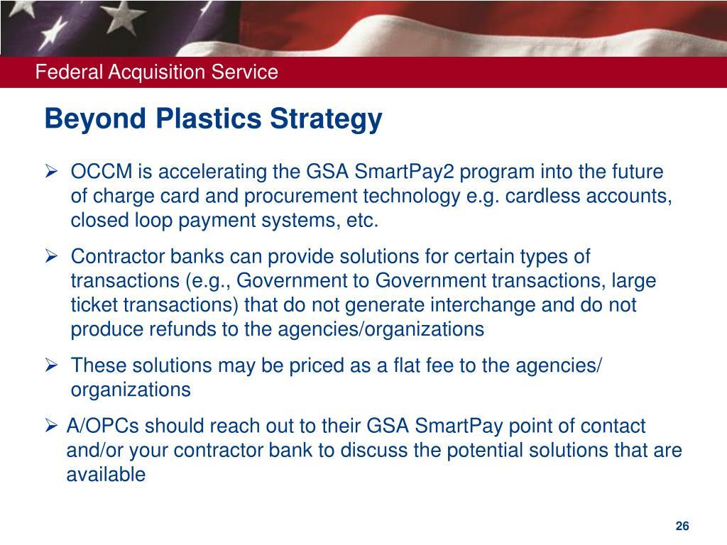 Beyond Plastics Strategy