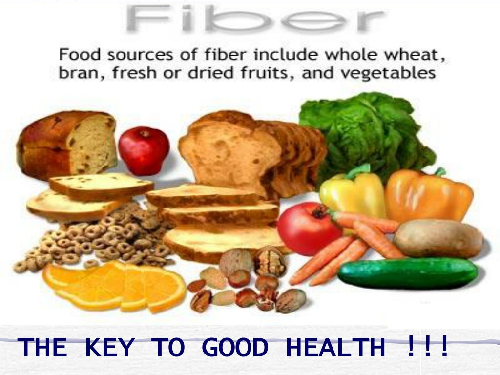 THE KEY TO GOOD HEALTH !!!