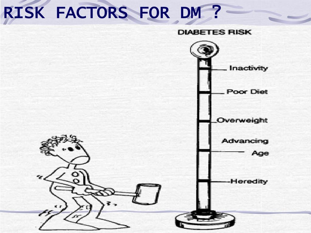 RISK FACTORS FOR DM ?