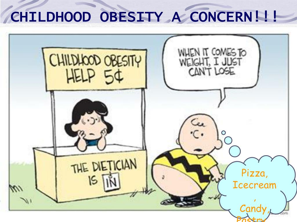 CHILDHOOD OBESITY A CONCERN!!!