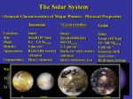the solar system14
