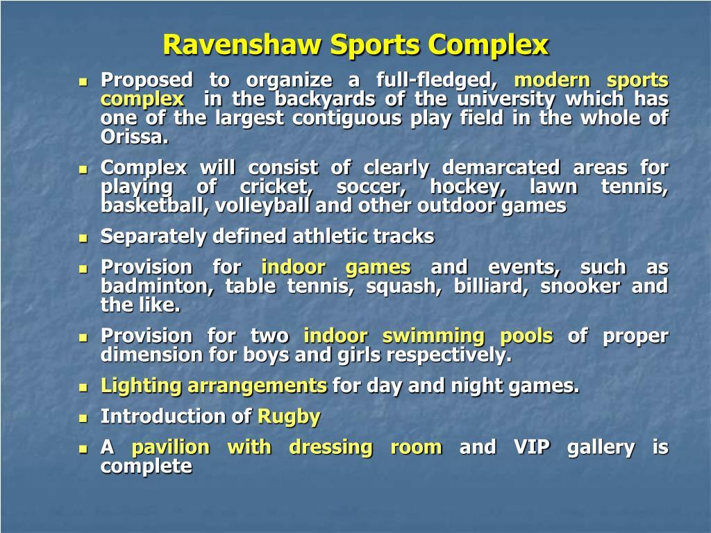Ravenshaw Sports Complex
