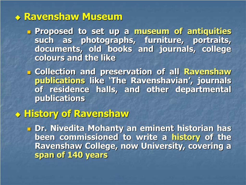 Ravenshaw Museum