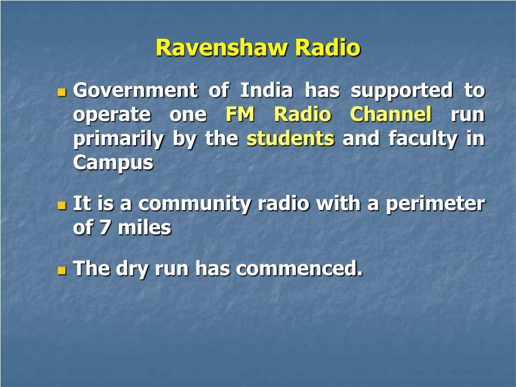 Ravenshaw Radio