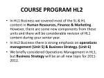 course program hl2