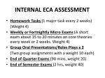 internal eca assessment