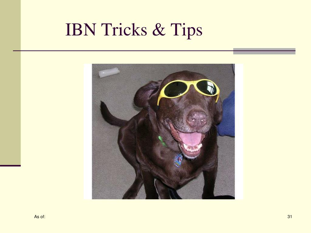 IBN Tricks & Tips