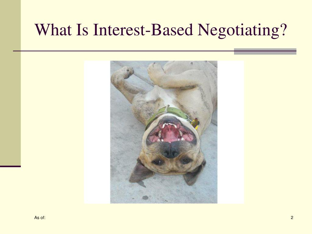 What Is Interest-Based Negotiating?