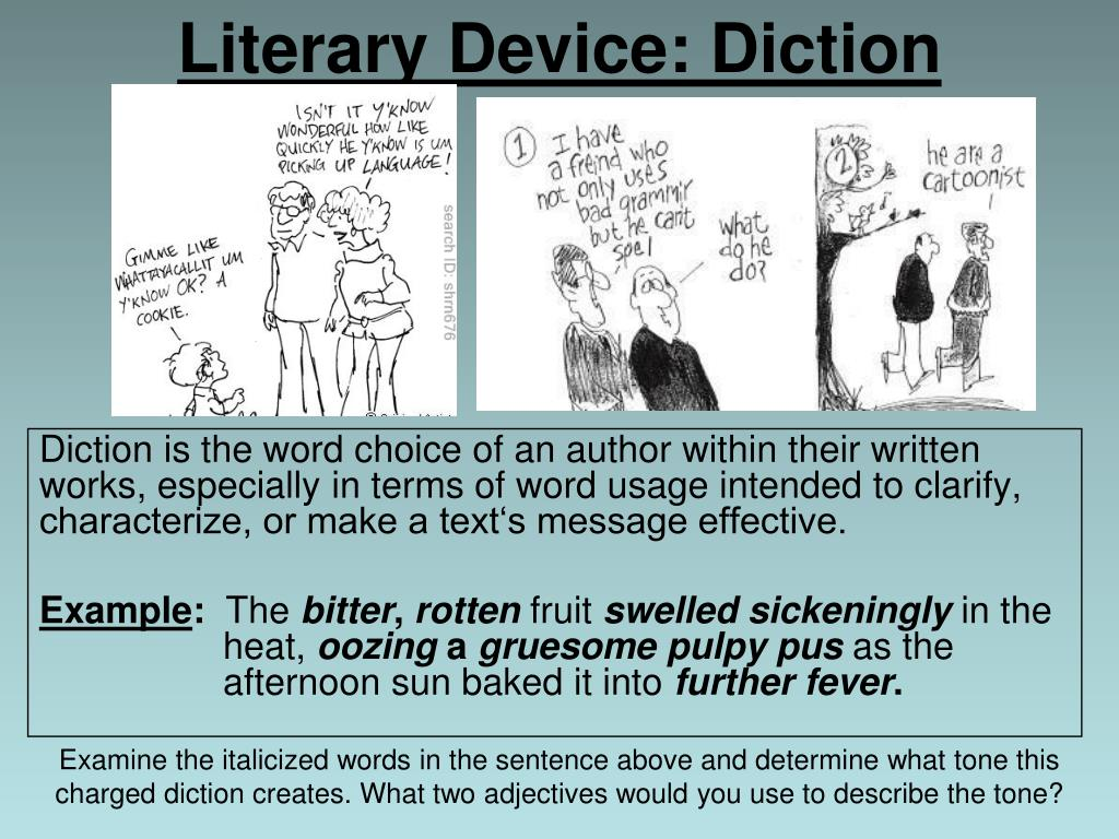 diction examples in literature