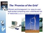 the promise of the grid