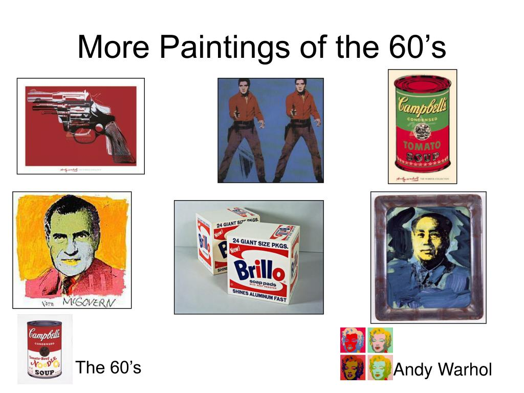 More Paintings of the 60's