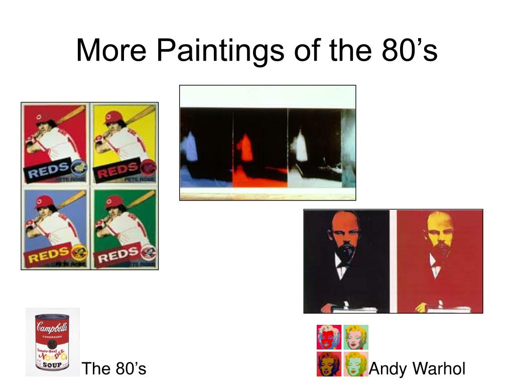 More Paintings of the 80's