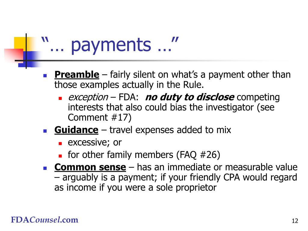 """""""… payments …"""""""