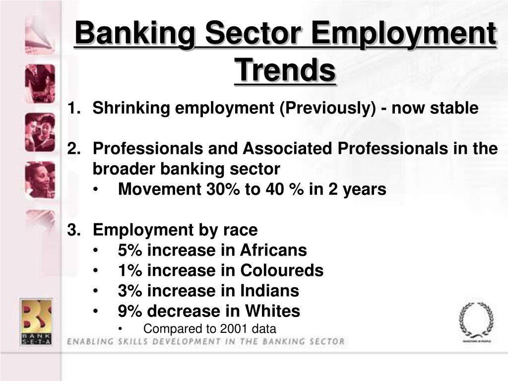 Banking Sector Employment Trends