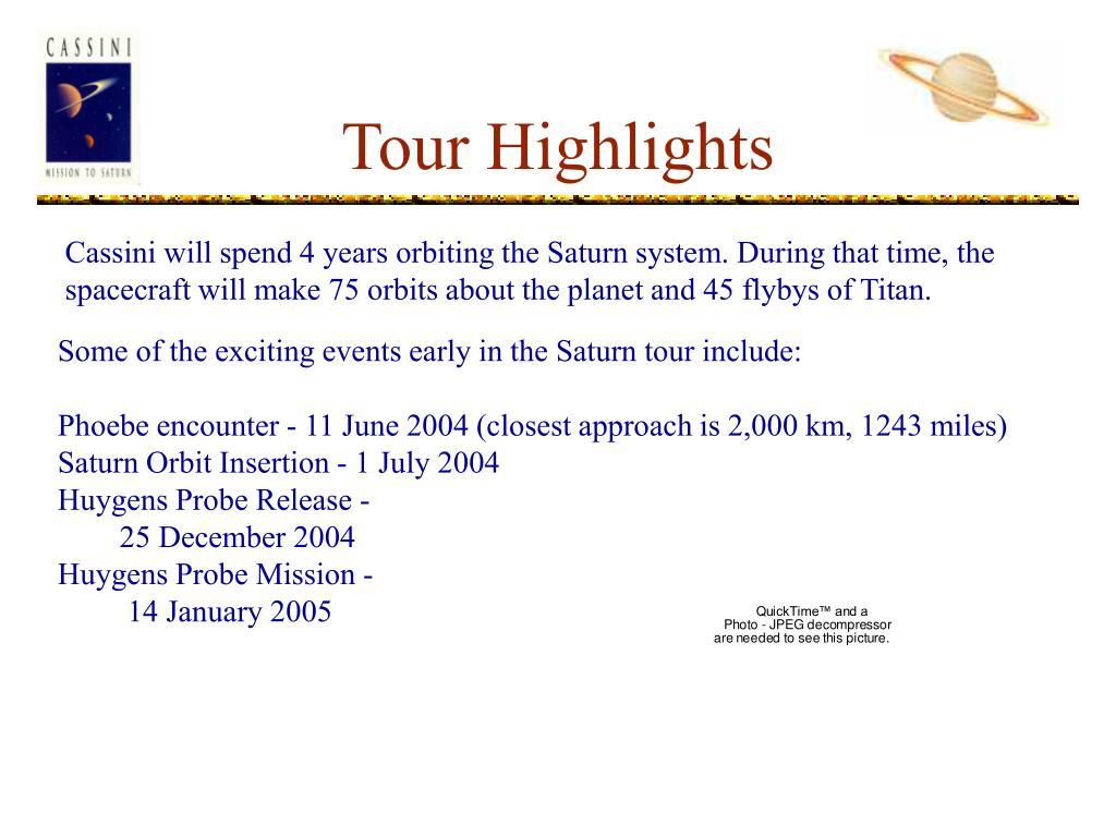 Tour Highlights