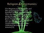 religion ceremonies
