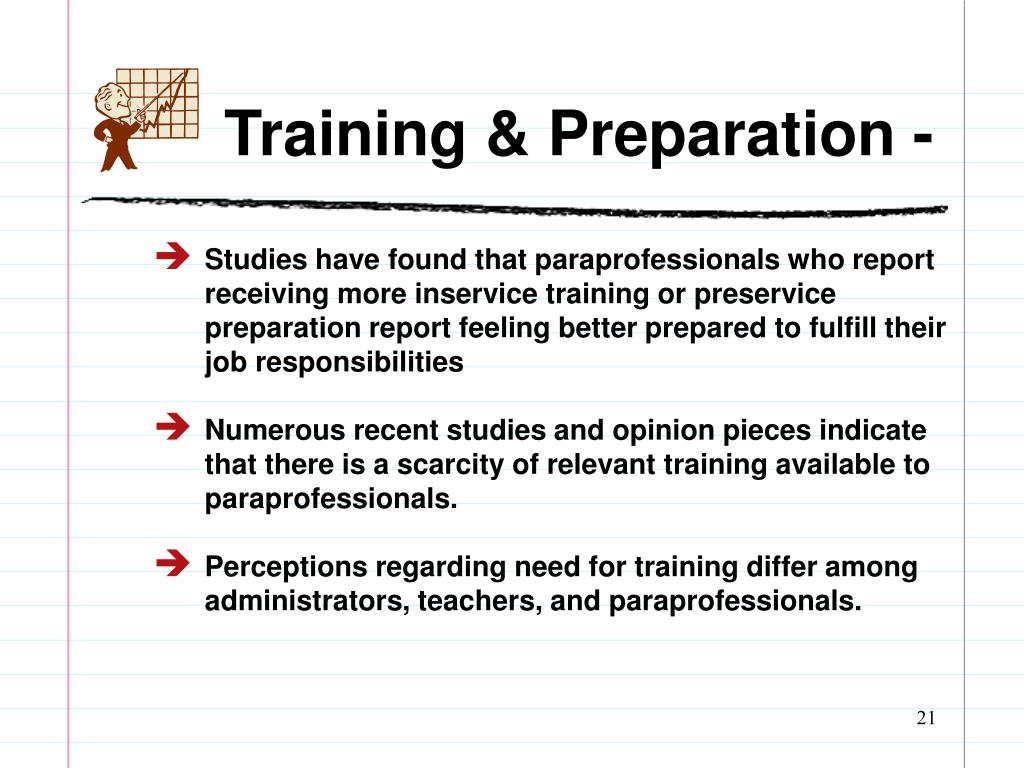 Training & Preparation -