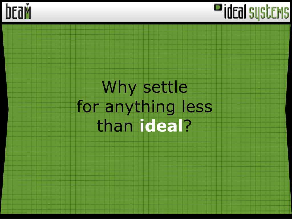 Why settle
