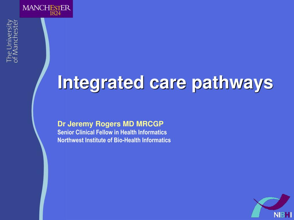 integrated care pathways l.