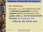 definitions of sustainable development14