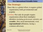 new international scientific order18