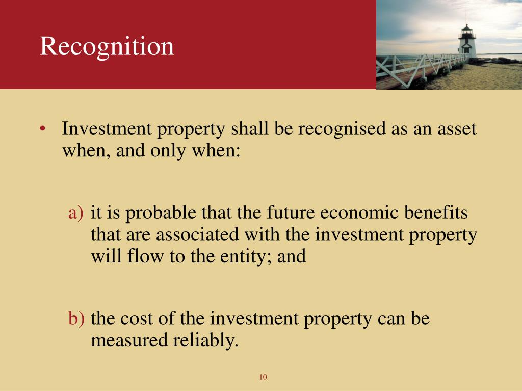 investment property entities