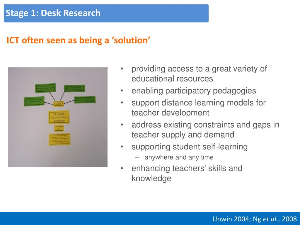Stage 1: Desk Research