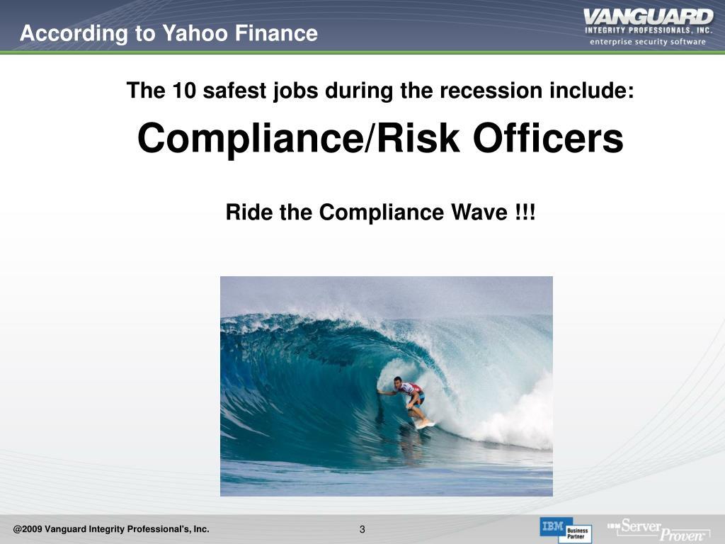 According to Yahoo Finance