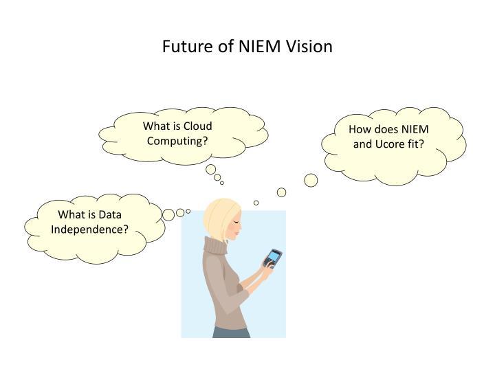 Future of niem vision