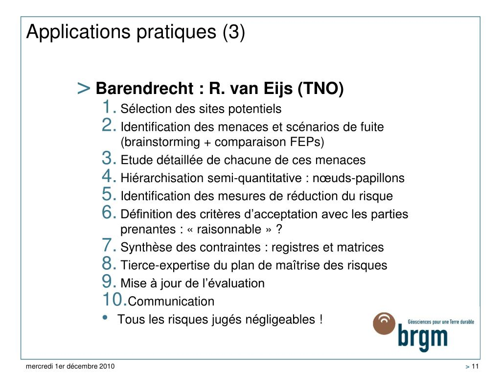 Applications pratiques (3)
